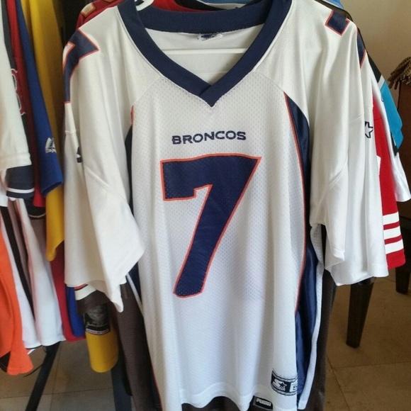 meet 51d91 4c2d1 Vintage Denver Broncos John Elway White Jersey